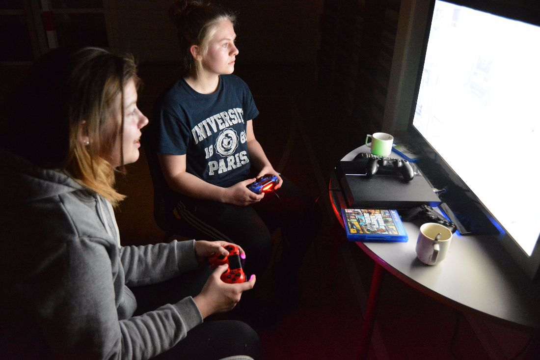 gaming efterskole, playstation